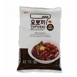 Yopokki Jjajang ryžové kúsky v sójovej omáčke – sáčok 120 g