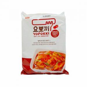Yopokki ryžové kúsky v sladko-pálivej omáčke – sáčok 140 g